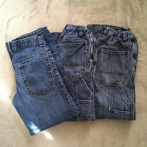 4 pairs!! Old Navy Boys Jeans 16 Regular